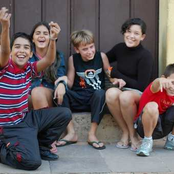 Happy children, Trinidad