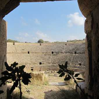 inside the amphitheatre