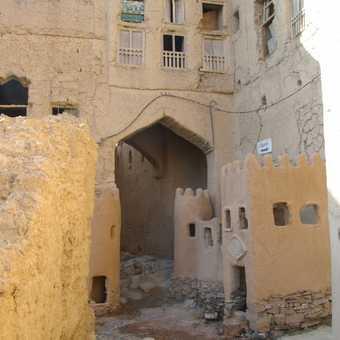 Old deserted village of al Hamra
