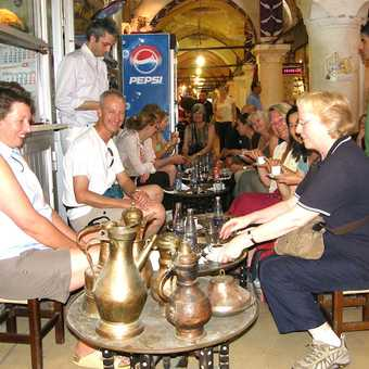 A typical wayside stall in Turkey
