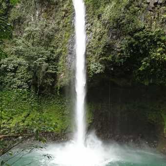Waterfall at La Fortuna