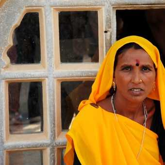 Amber Fort Worker