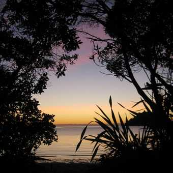 Sunrise in Abel Tasman National Park