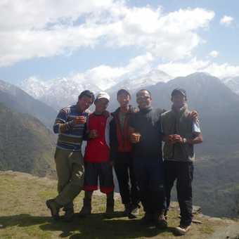 31/3 our Sherpas LtoR Ngima our leader,Bme,Mingma,Chomba, Gopal