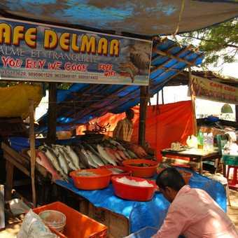 Chinese fishing nets Fort Cochin