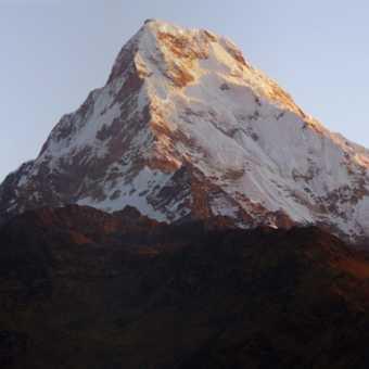 Annapurna south & Baraha Shikhar - Poon hill