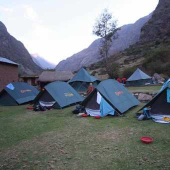 Inca Trail - Camp 1