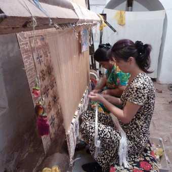 silk weaving