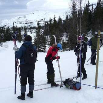 Kitavatin Fjellstoge and ski areas