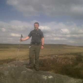 Curbar Edge in the Peak District