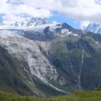 The Alps from the French side