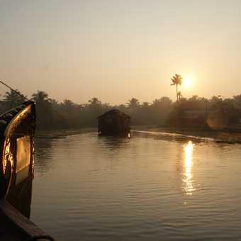 Houseboat Sunset