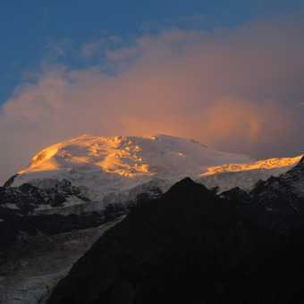 Dawn over Mont Blanc