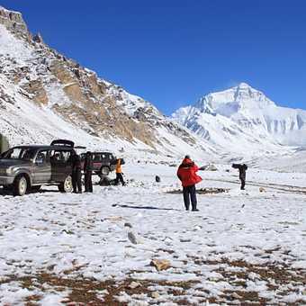 camp site, Rongbuk