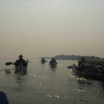 Final day's paddling