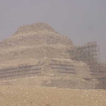Boat pit along side great pyramids
