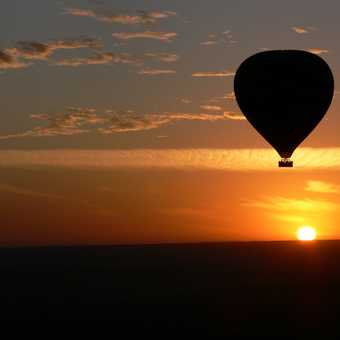 Balloon Sunrise over the Masai Mara