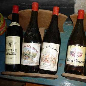 Local wines of Fianarantsoa area