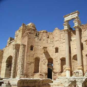 Leptis Magna Severan Basilica Dionysian apse