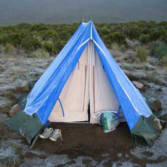 Our comfy Tent