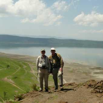 Barry and CRPK at Nakuru Viewpoint