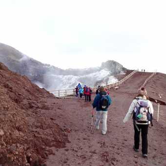 Towards the crater Of Vesuvio