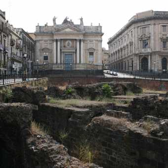 Ancient Ruins in Catania