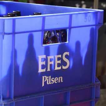 Efes - the monopolist's beer of cholice