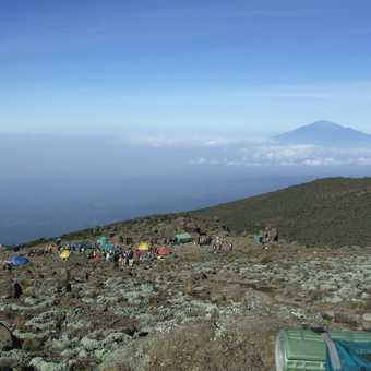 mt meru from karanga 4000m