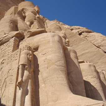 Abu Simbel statue