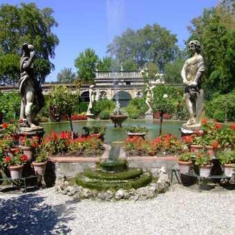 formal garden-lucca