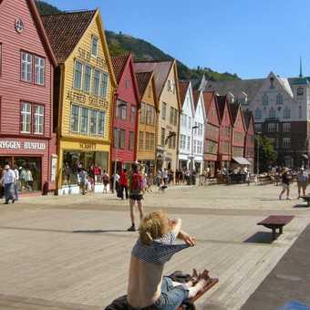 Bergen Hansiatic Houses