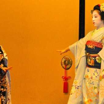 Traditional Geisha dancing, Gion District, Kyoto