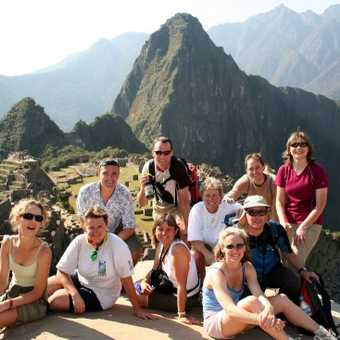 Exodus group at Machu Picchu