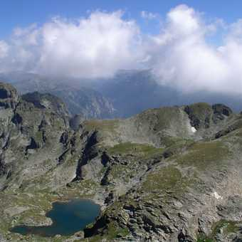 View from Ascent of Mt. Malyovitsa
