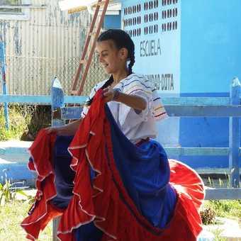 Pre-school classroom, La Trinidad de Dota