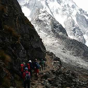 Approaching the high pass