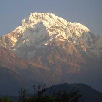 Morning view from Ghandruk