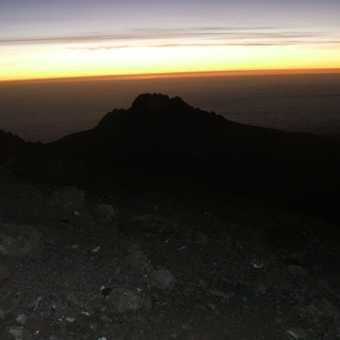 sunrise over mawenzi