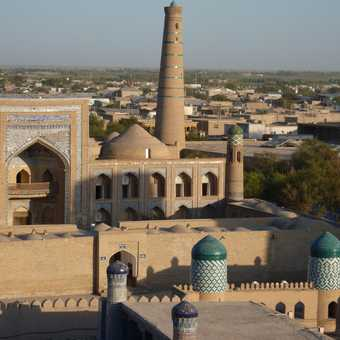 View from the Khiva Minaret