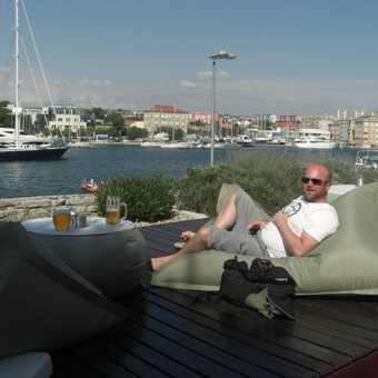 Relaxing in Zadar