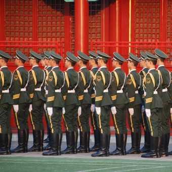 red guard in Beijing