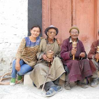 old men and local guide