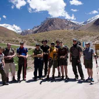 Team at trail head