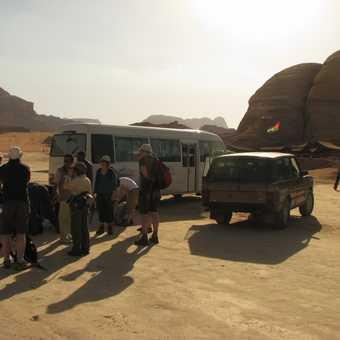Arrival at Wadi Rum