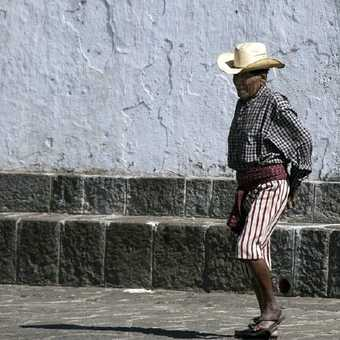 Traditional costume in Guatemala