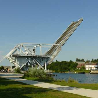 Bridge on Caen canal