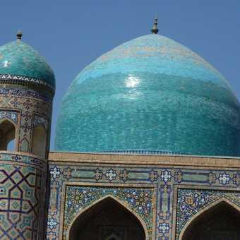 Registan domes