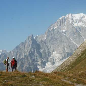 Ascending Monte de la Saxe