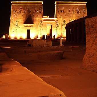 Philae by night